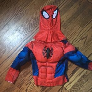 Spider-Man top and mask